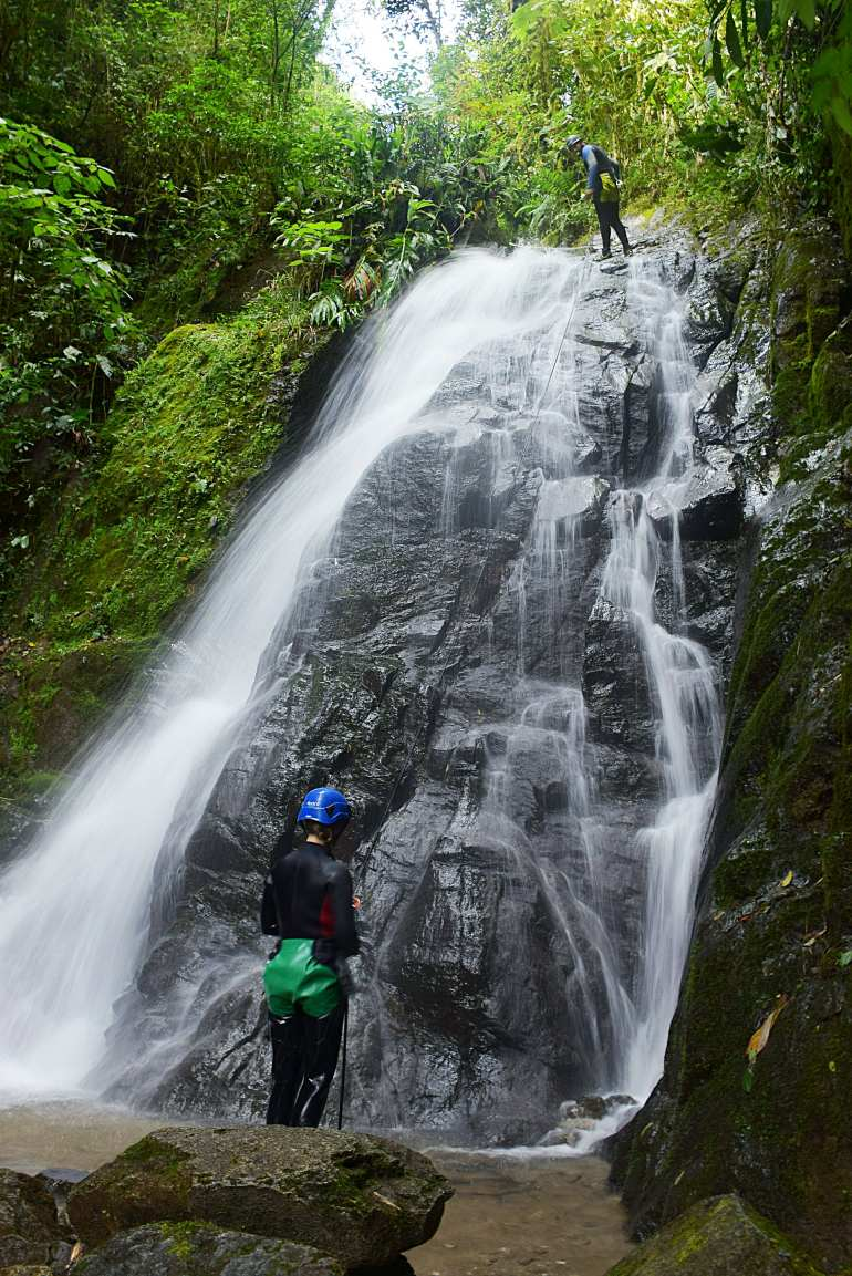 Canyoning in Banos